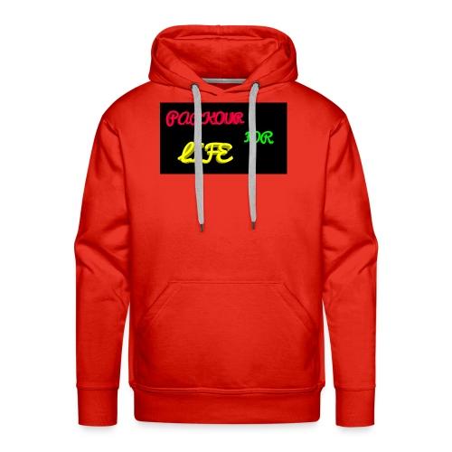 Parkour for Life graffiti merchandise - Men's Premium Hoodie
