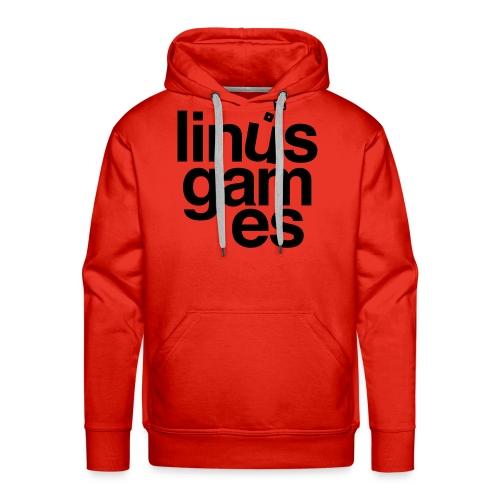 T-shirt donna Linus Games - Felpa con cappuccio premium da uomo