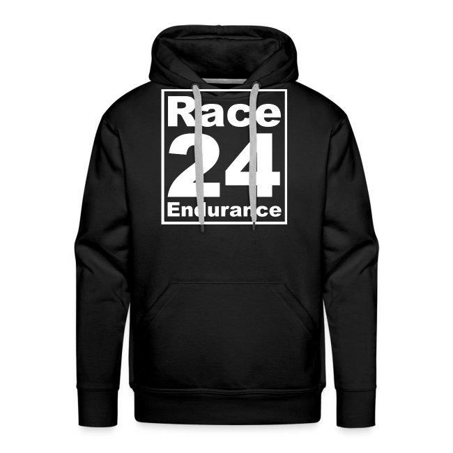Race24 Logo - White