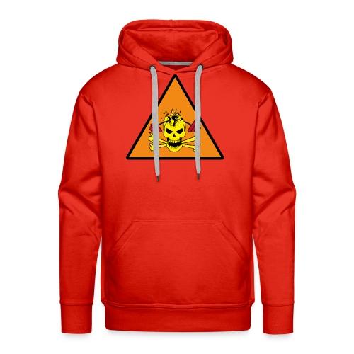 SKULL DESTROY - Sweat-shirt à capuche Premium pour hommes