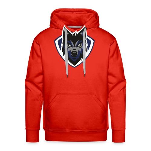 lobo2 - Sudadera con capucha premium para hombre