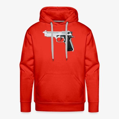 Original BAD Pistol Logo With (LIMITED EDITION) - Felpa con cappuccio premium da uomo
