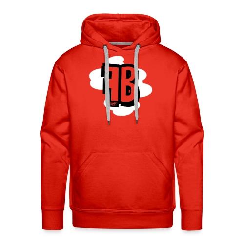 FUZY_BOT MUISMAT VERTICAAL - Mannen Premium hoodie