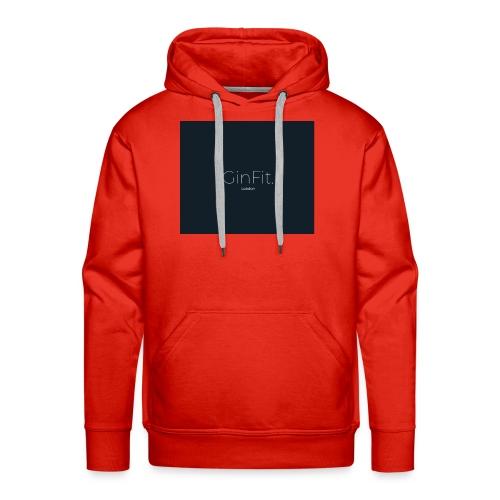 GinFitNavy - Men's Premium Hoodie