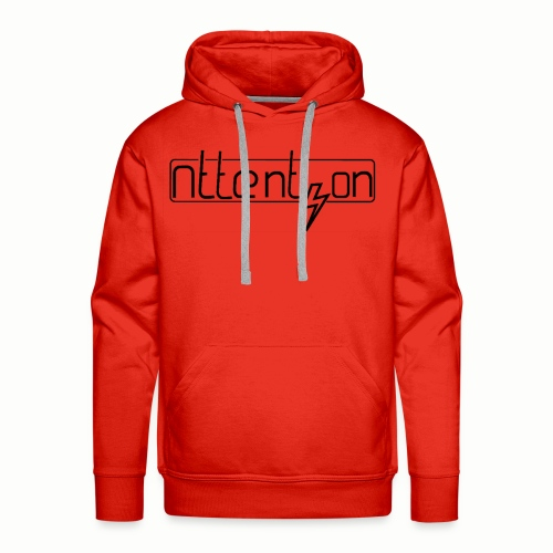 attention - Mannen Premium hoodie