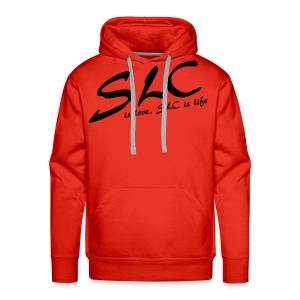 SLC is Love, SLC is Life - Mannen Premium hoodie
