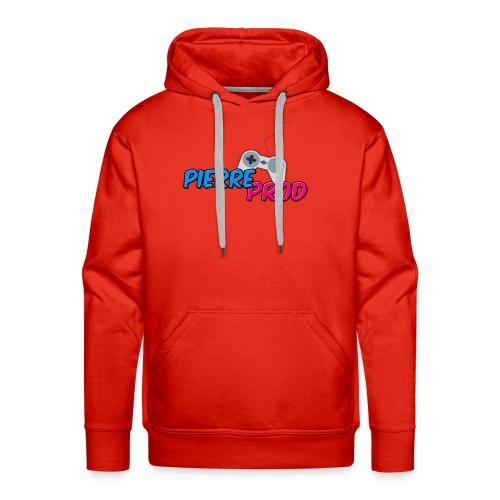LOGO PIERREPROD - Sweat-shirt à capuche Premium pour hommes