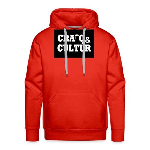 Craic & Cultúr - Men's Premium Hoodie