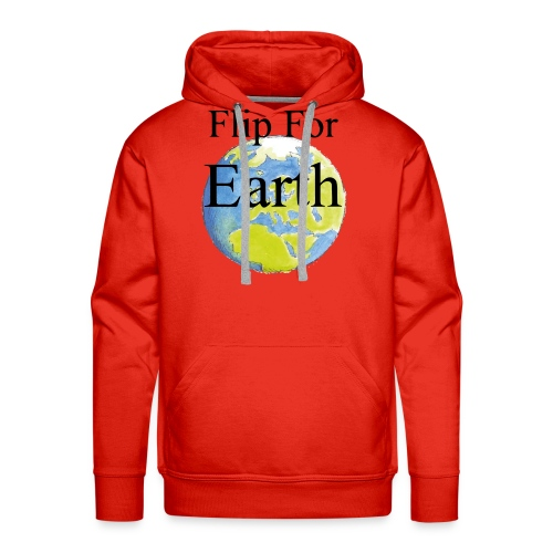 Flip For Earth T-shirt - Premiumluvtröja herr