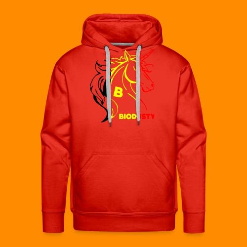 belgian biodusty unicorn hoodie unisex - Mannen Premium hoodie