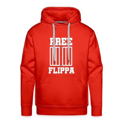 Free Flippa Wit - Mannen Premium hoodie