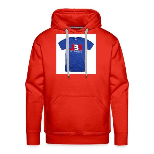 ClassicBBBroyalredwhite 1024x1024 - Mannen Premium hoodie