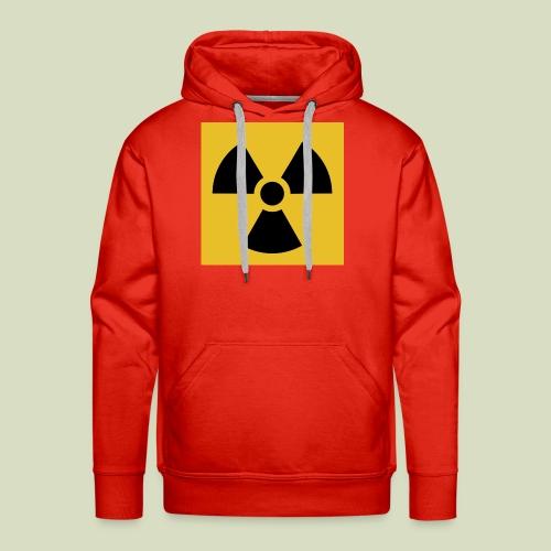 Radiation warning - Miesten premium-huppari