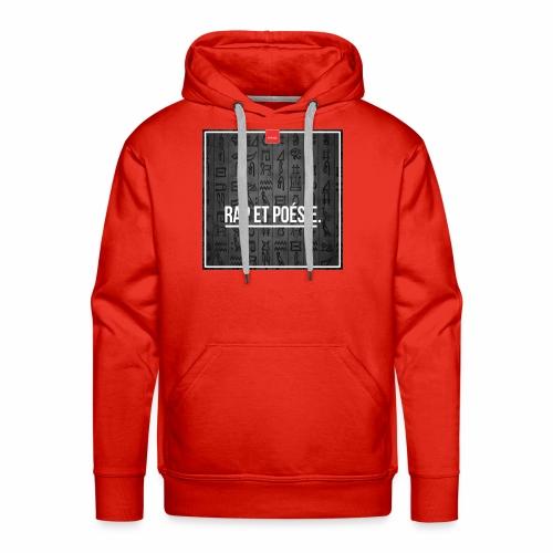 trilogie - Sweat-shirt à capuche Premium pour hommes