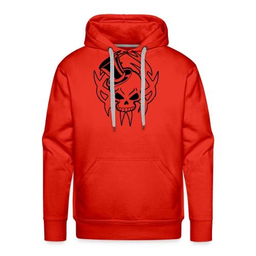 snazzy skull - Men's Premium Hoodie