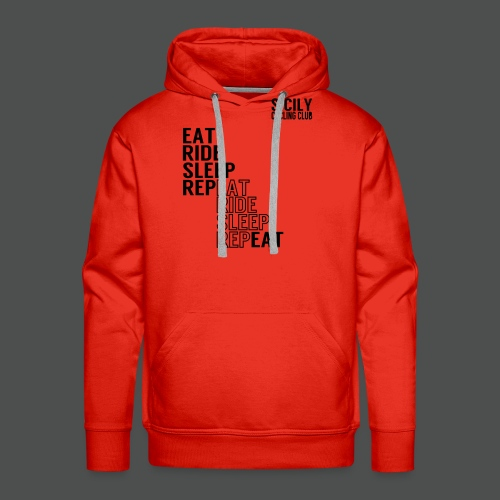 Eat Ride Sleep RepEAT - Men's Premium Hoodie