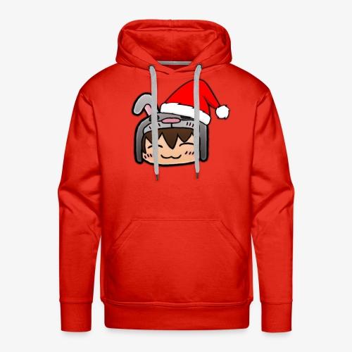 Weihnachtshase - Männer Premium Hoodie