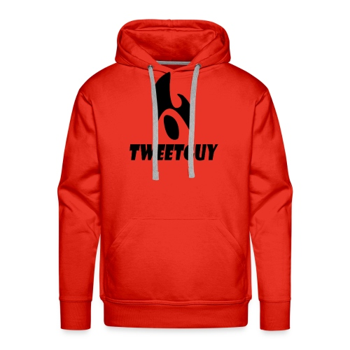 TweetGuy Originele Merchandise Met TEKST - Mannen Premium hoodie