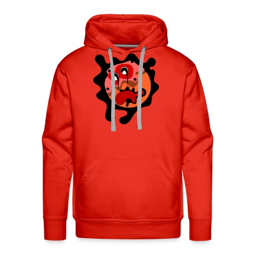 scary cartoon - Mannen Premium hoodie