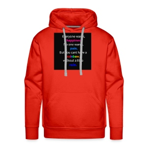 Everyone wants, happiness - Männer Premium Hoodie
