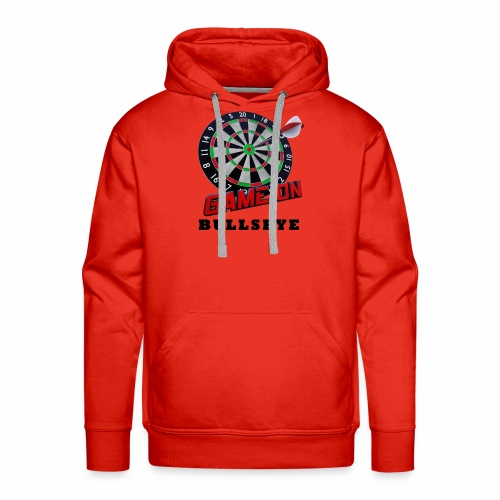 Darts Bullseye Game on - Mannen Premium hoodie