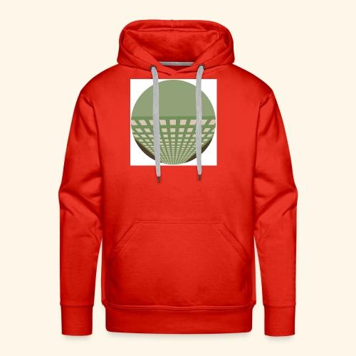 building1 - Sweat-shirt à capuche Premium pour hommes