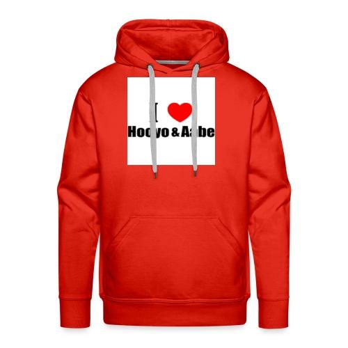 hooyo aabe1 - Mannen Premium hoodie