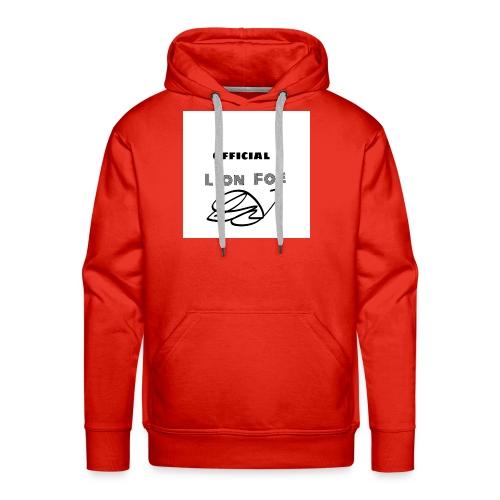 """Lion Foe """"Signature"""" - Männer Premium Hoodie"""