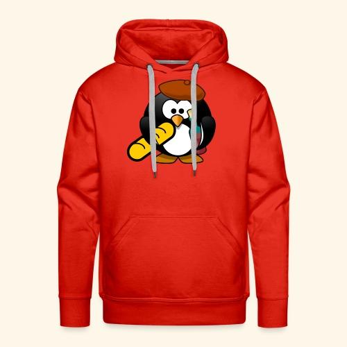 Französisch Baguette Pinguin Stereotyp - Männer Premium Hoodie