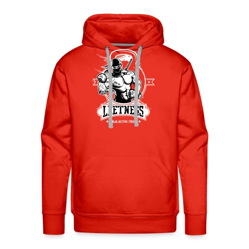 Leetness - Men's sports shirt - Men's Premium Hoodie
