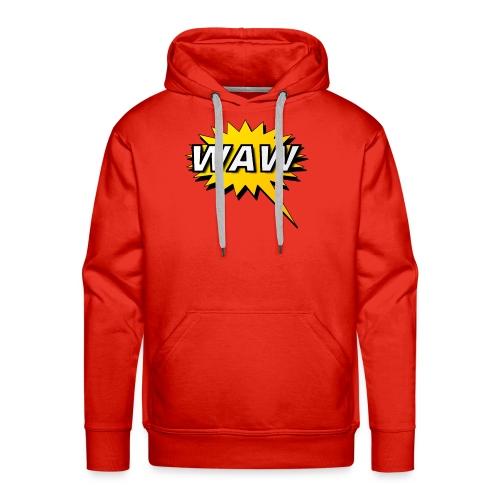 WAW - Sudadera con capucha premium para hombre