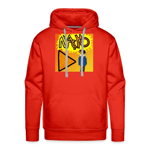Nacho Title with Little guy - Men's Premium Hoodie