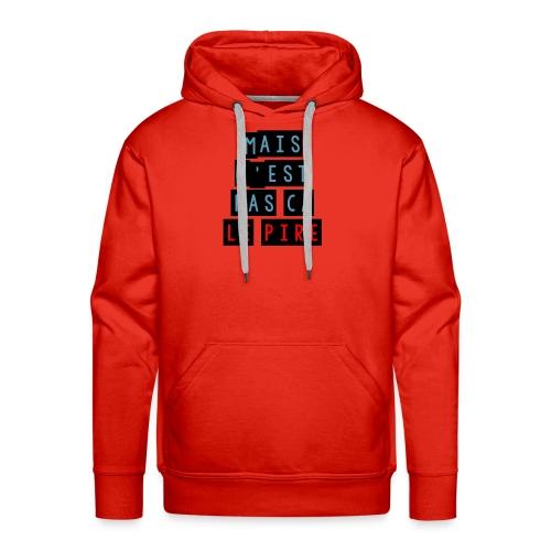 PCLP - Sweat-shirt à capuche Premium pour hommes