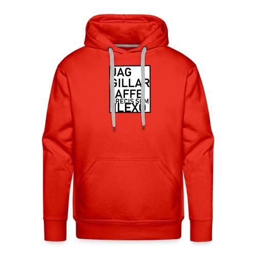 jag gillar AFFE - Premiumluvtröja herr