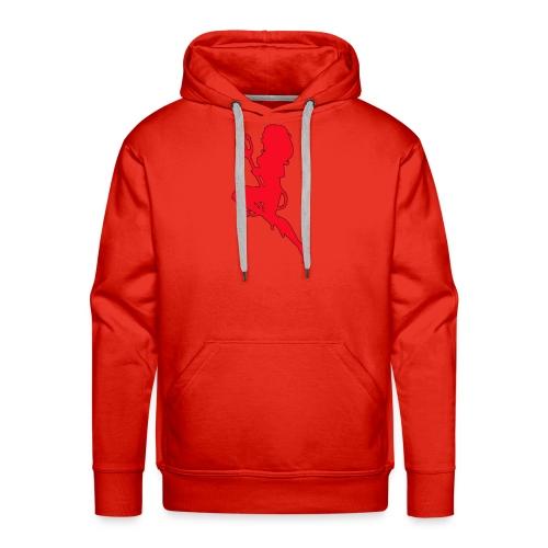Duiveltje vrouw - Mannen Premium hoodie