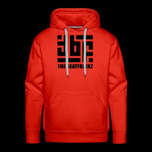 the beatfreekz logo 3 black - Men's Premium Hoodie