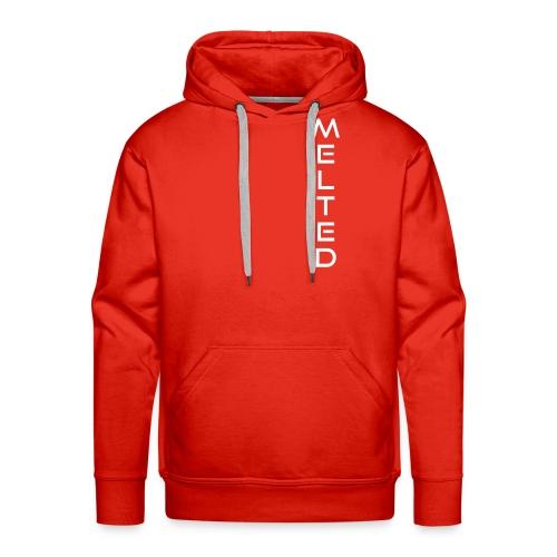 MELTED - Vertical 2.0 - Sudadera con capucha premium para hombre