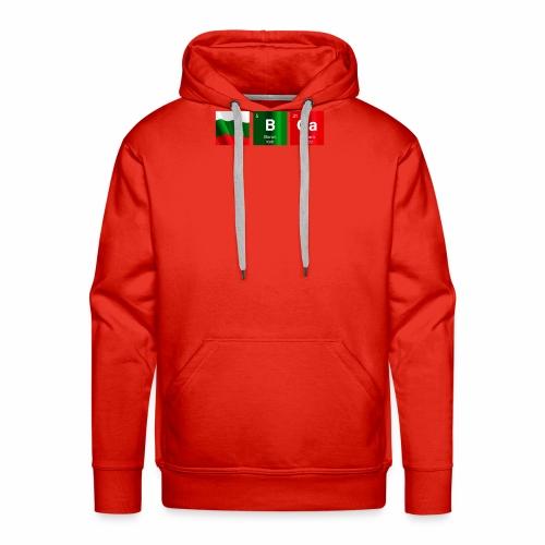 Bulgaria Flag BGa Chemical Element Periodic Table - Men's Premium Hoodie