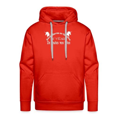 Saint-Barres original - Sweat-shirt à capuche Premium pour hommes