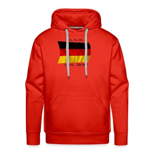 Deutschland Fussball WM Geschenkidee - Männer Premium Hoodie