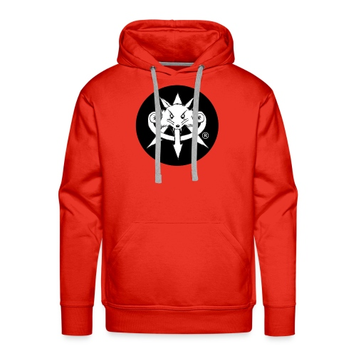 Official Attention Logo Merch - Men's Premium Hoodie