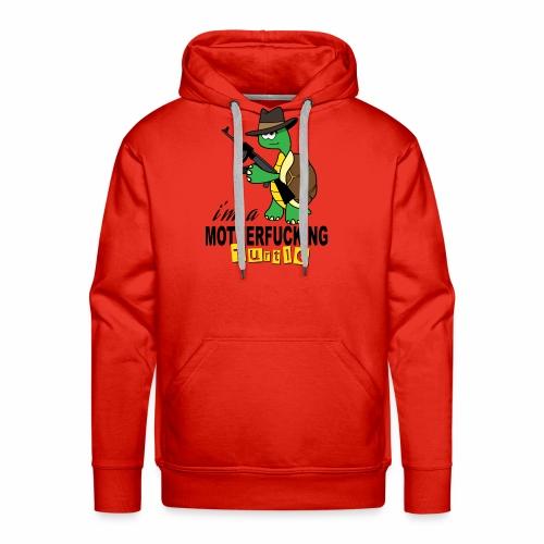 Gangster Schildkröte Geschenk Cool - Männer Premium Hoodie