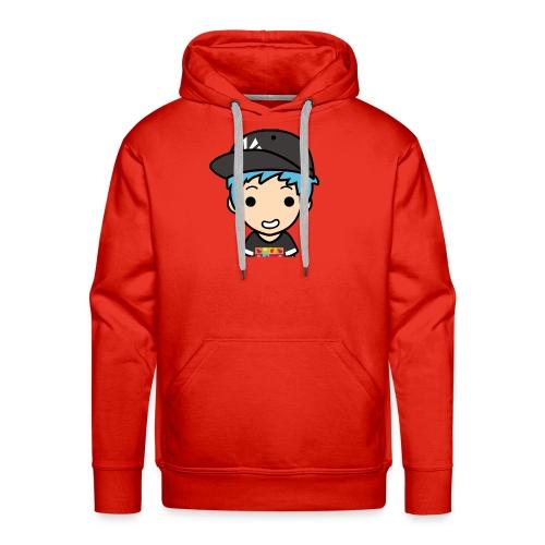 EnchantedGamer26 logo - Sweat-shirt à capuche Premium pour hommes