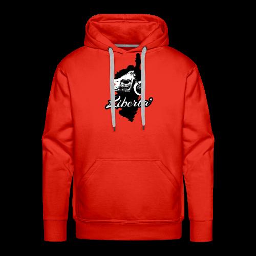 Libertà - Sweat-shirt à capuche Premium pour hommes