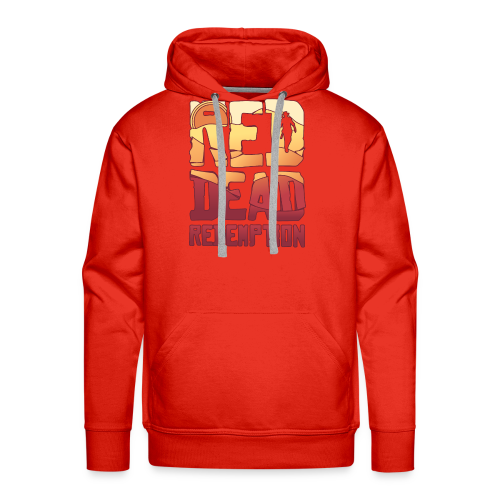 Red dead redemtion Sunset - Sudadera con capucha premium para hombre