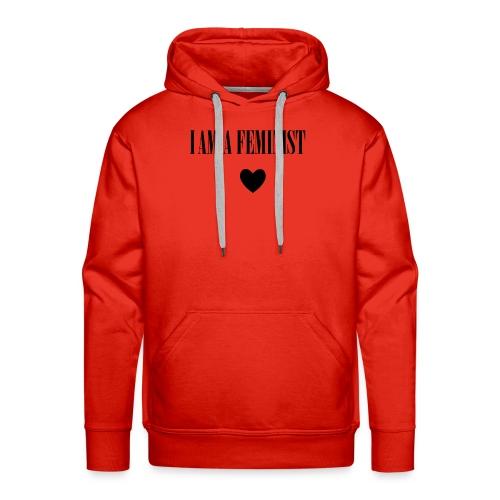 I AM A FEMINIST - Mannen Premium hoodie