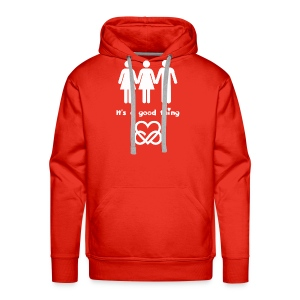 PolyLove - It's a good thing - Männer Premium Hoodie