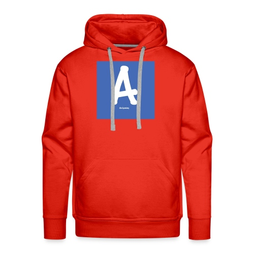 logo pet - Mannen Premium hoodie