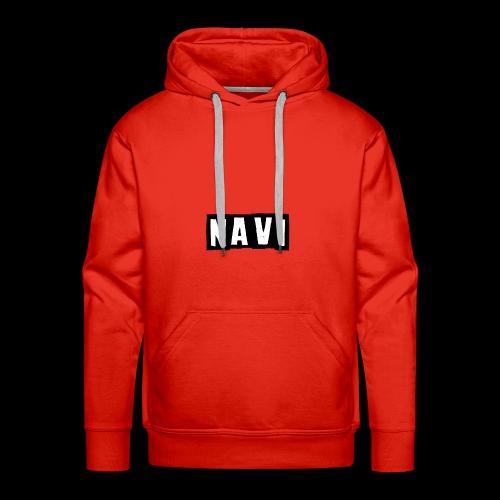 NAVI - Sudadera con capucha premium para hombre