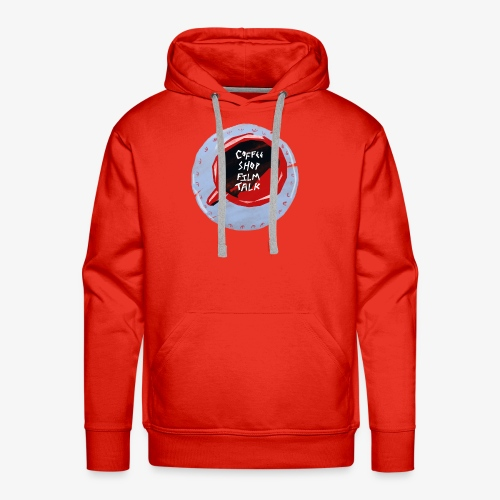 Coffee Shop Film Talk - Men's Premium Hoodie